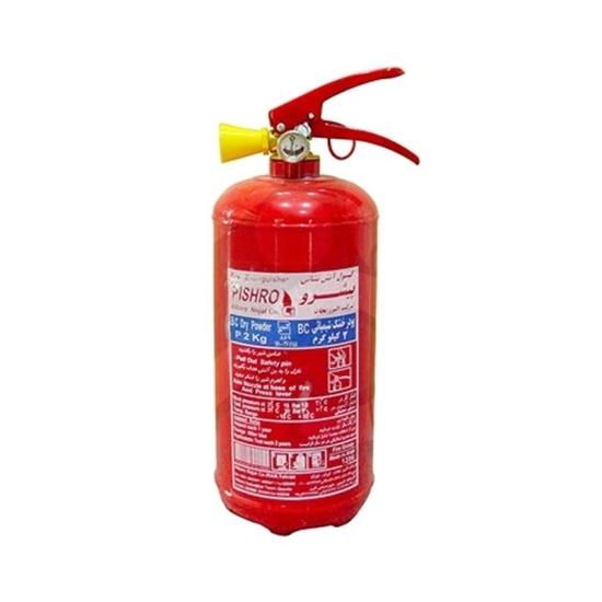 کپسول آتش نشانی پودر و گاز 2 کیلویی پیشرو