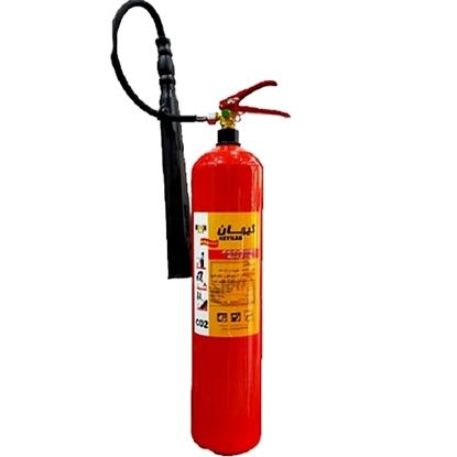 کپسول آتش نشانیCO2 شش کیلویی کیهان